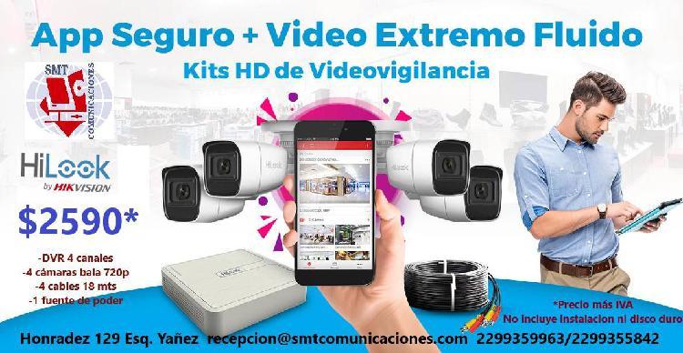 Kit de videovigilancia