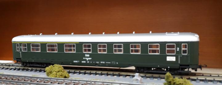 Liliput h0 coche de viajeros mixto 1ª y 2ª clase, de la