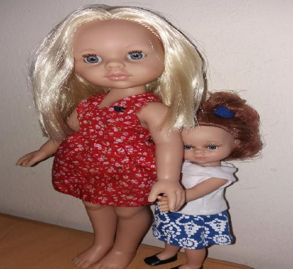 Lote 2 muñeca nicoleta nicoletta fair rubia imaginarium y