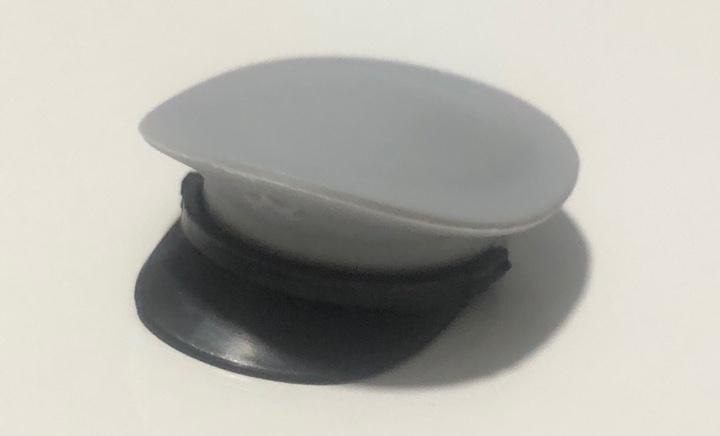 Madelman. gorra alto mando 2ª generación color gris.