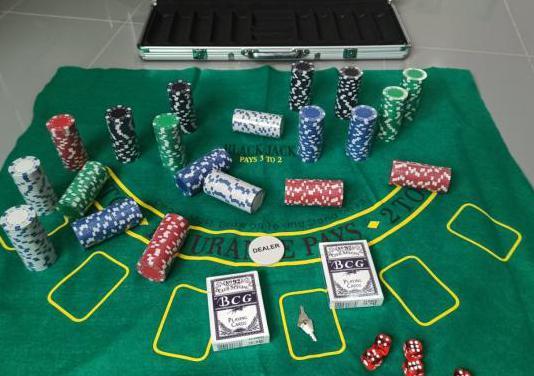 Maletín de poker a estrenar