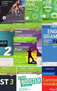 Pack 11 libros first certificate fce
