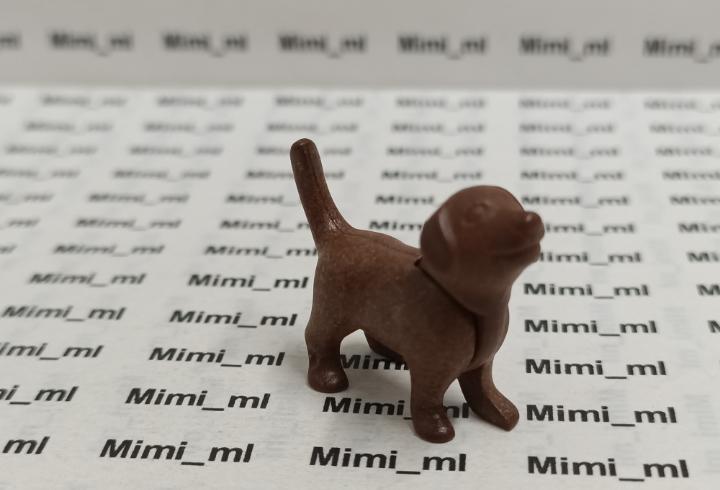 Playmobil cachorro perro marrón animales mascotas