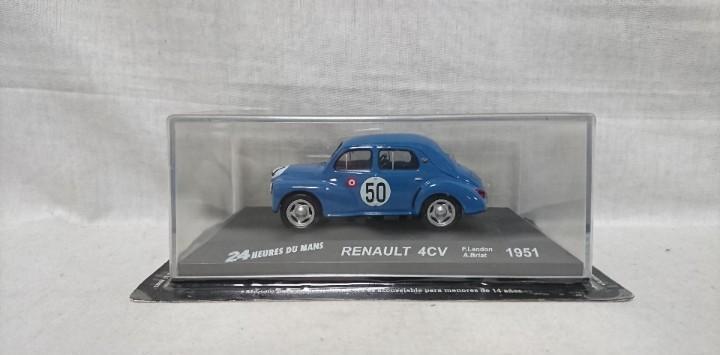 Renault 4cv 1951, 24 heures du mans, escala 1:43
