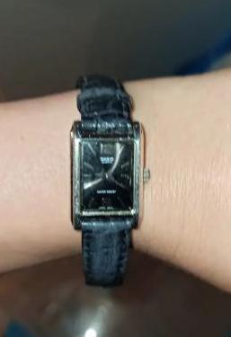 Reloj casio clásico mujer piel