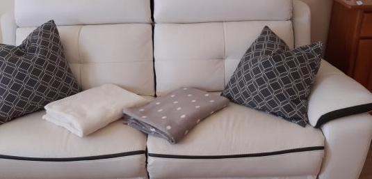 Sofa piel 2 plazas