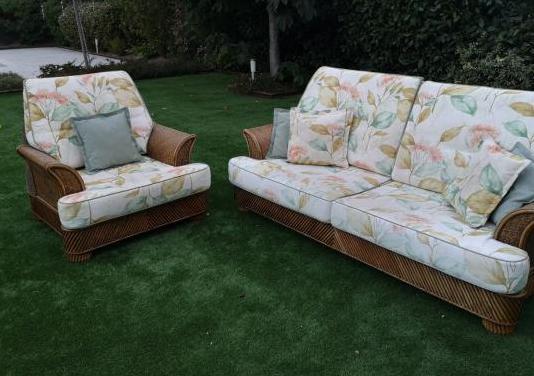 Sofa y sillon para interior y exterior