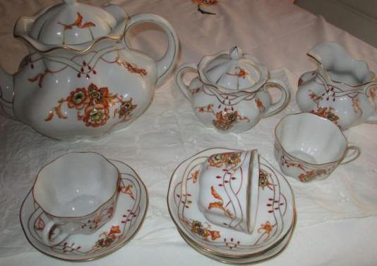 Tee oder kaffeegedeck von 1915