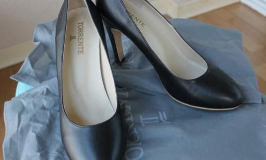 Zapatos salón señora negros