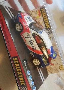 Coche ford focus scalextric