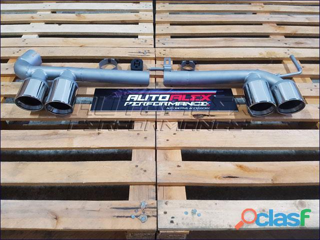 Tubos Escape BMW F30 + F31 2
