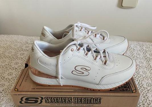 Zapatillas blancas skechers