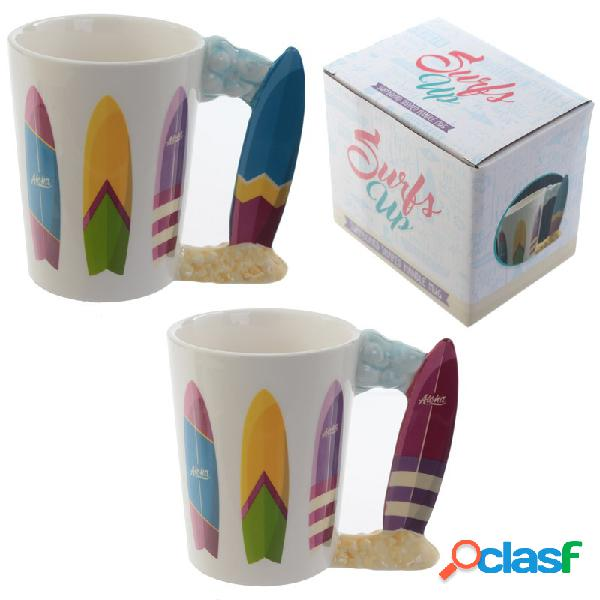 Taza tabla surf