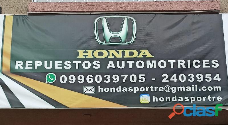 Honda sport repuestos automotrices