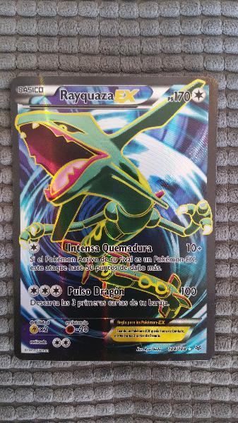 1x Rayquaza EX pokemon foil full art