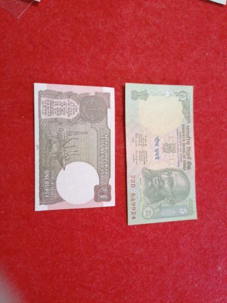 Billetes de la india