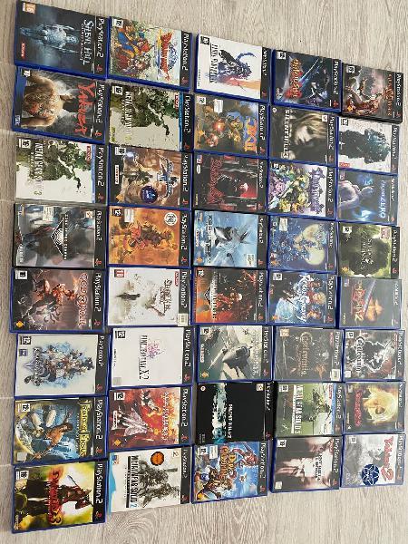 Colección juegos ps2