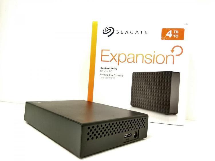 "Disco duro externo 4 tb seagate 3,5"" b 100279"