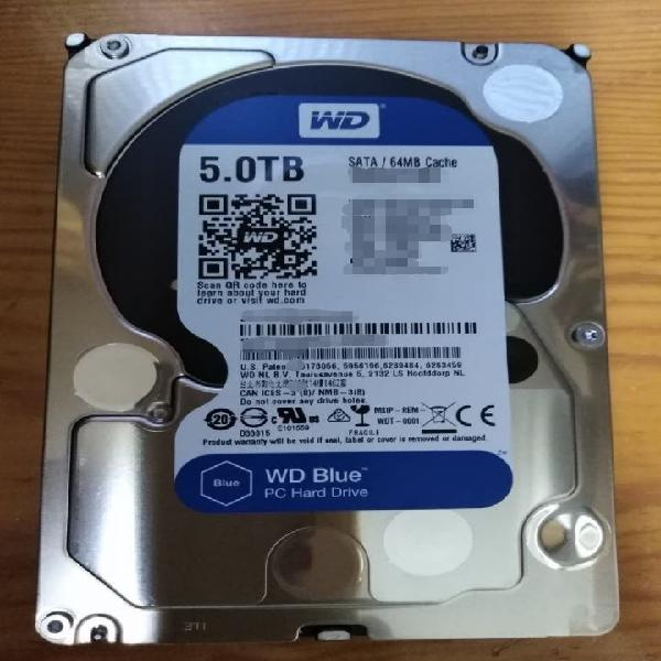 Disco duro interno - 5 tb
