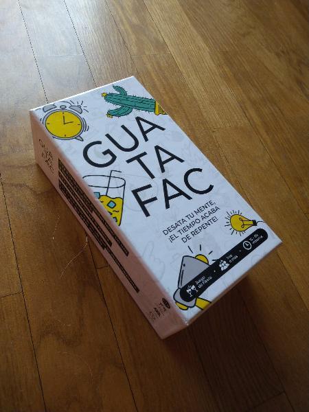Juego cartas guatafac
