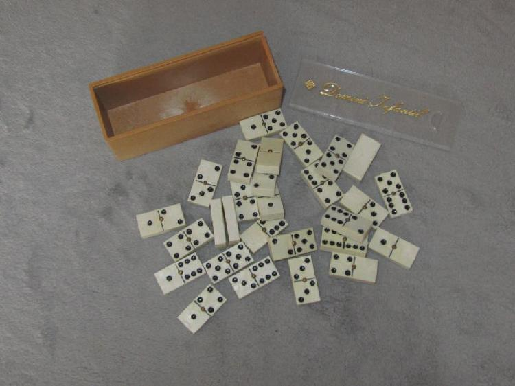 Juego de domino fichas