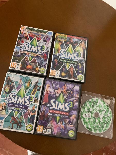 Los sims 3 + expansiones