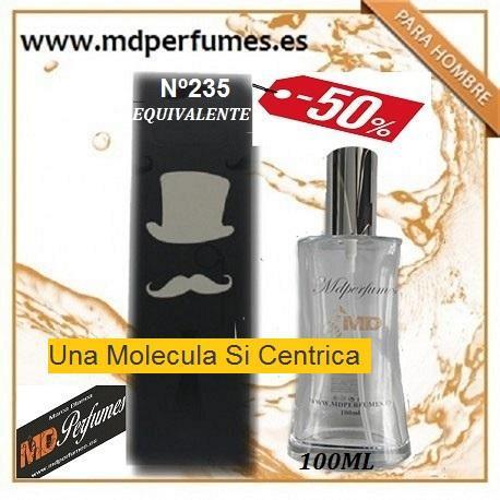 Oferta Perfume Hombre Nº235 Una Molecula Si Centrica Alta