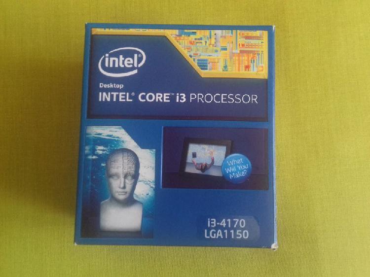 Procesador intel i3 box con ventilador nuevo