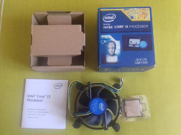 Procesador intel i3 box con ventilador usado