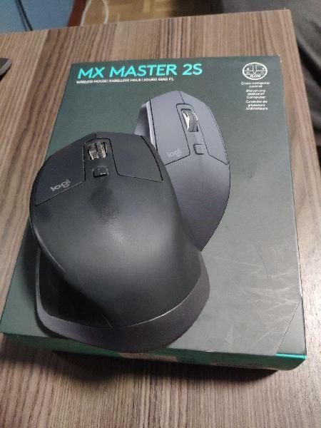 Ratón logitech mx master 2s