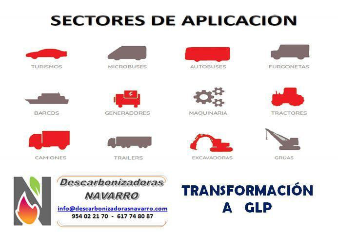 Servicio de transformacion a glp