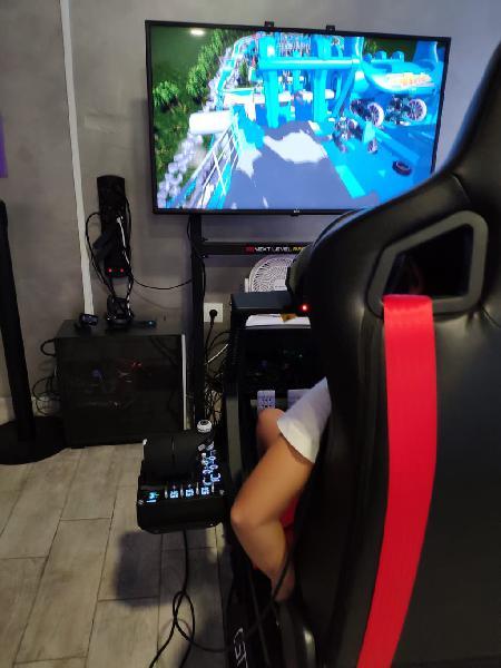 Simulador de realidad virtual profesional