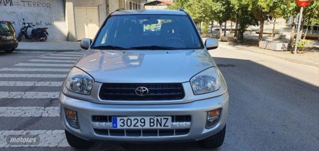 Toyota rav 4 2.0 vvti luna 4x4 de 2002 con 117.000 km por