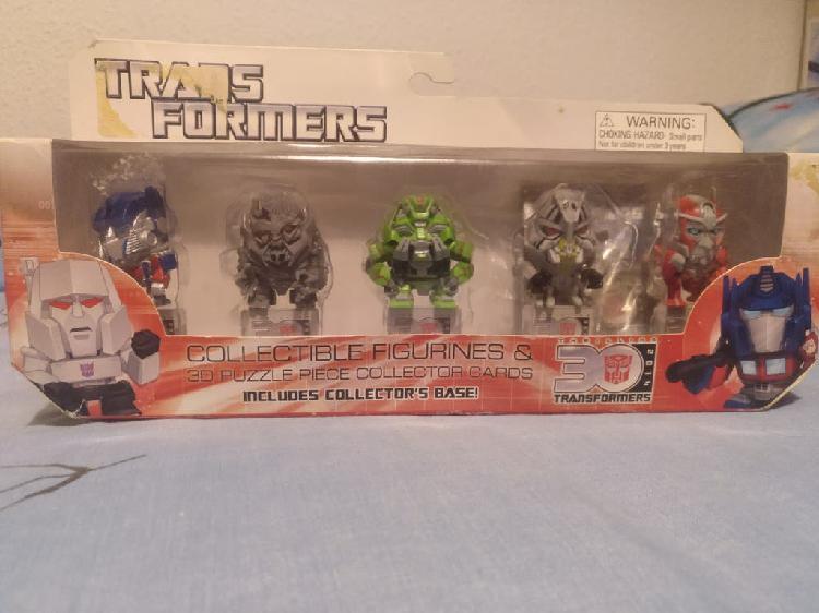 Transformers pack mini figuras