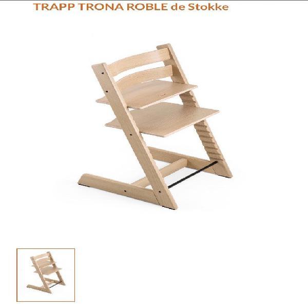 Trona Stokke Tripp Trapp roble