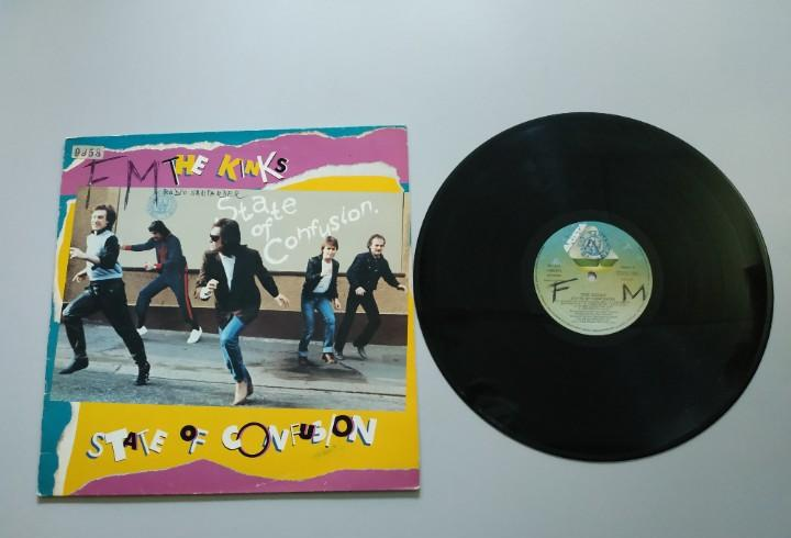 0920- the kinks state of confusion españa 1983 lp vin por g