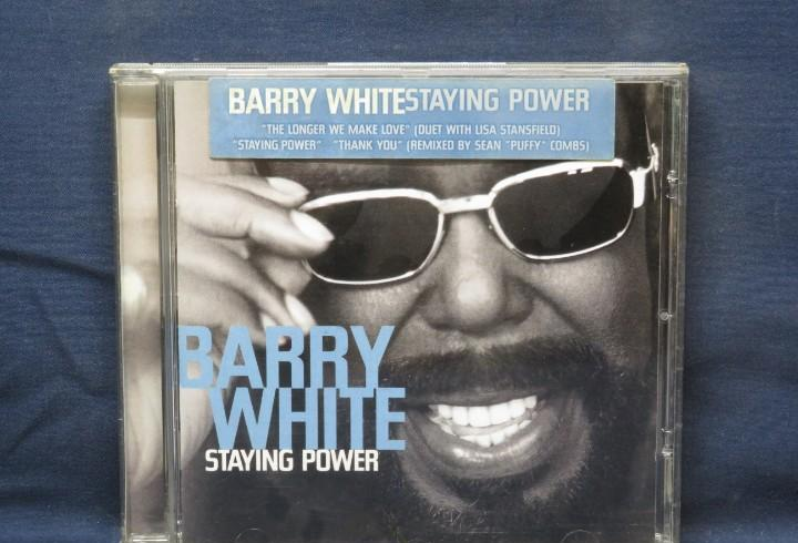 BARRY WHITE - STAYING POWER - CD