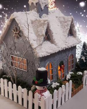 Casitas de navidad