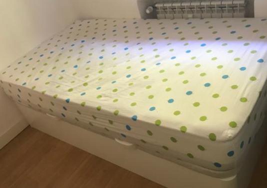 Cama canapé y colchón 105x190cm