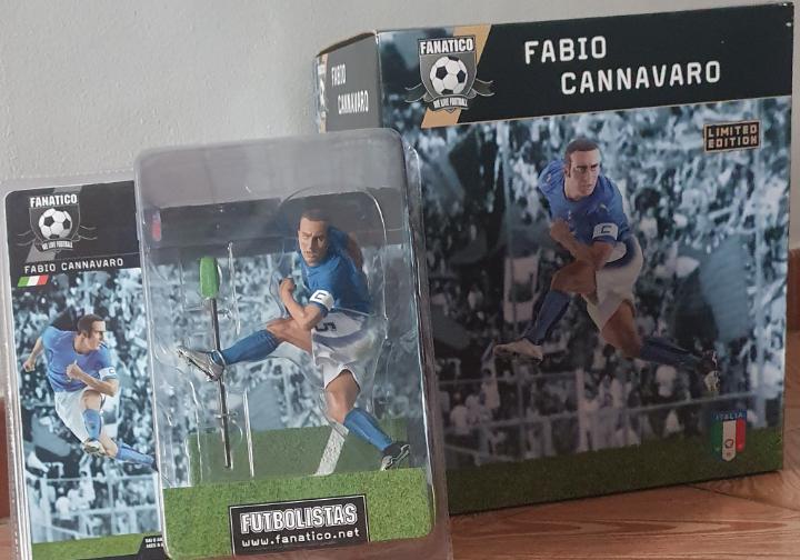 Fabio cannavaro mundial italia 2006 - 2 figuras exclusivas