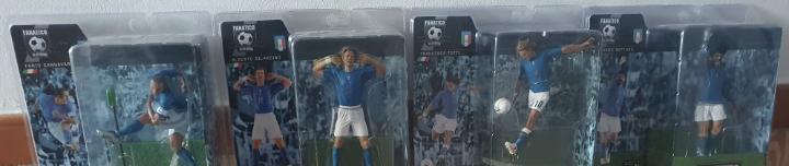 Figuras mundial italia 2006 - totti gattuso gilardino