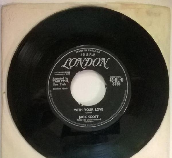 Jack scott. geraldine/ with your love. london, uk 1958
