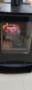Kalesy xl estufa leña canalizable 14 kw