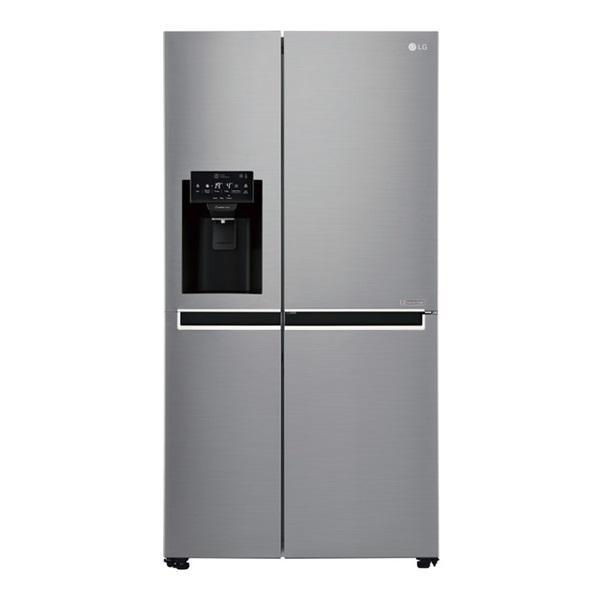 Lg gsl760pzxv - frigorífico americano inox antihuellas a+