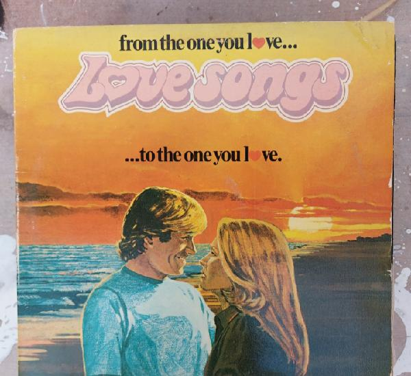 Lp love songs - from yhe one you love...to the one you love