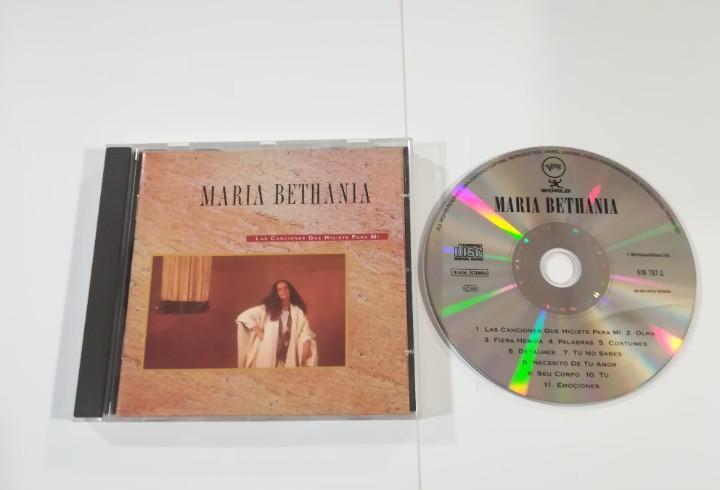 Maria bethania - las canciones que hiciste para mi