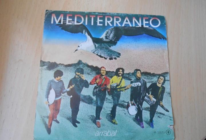 Mediterraneo, sg, arrabal + 1, año 1982 promo