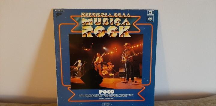 POCO - HISTORIA DE LA MUSICA ROCK LP VINILO EDICION