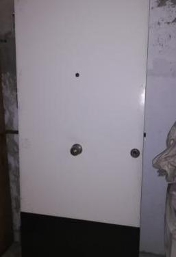 Puerta muy blindada