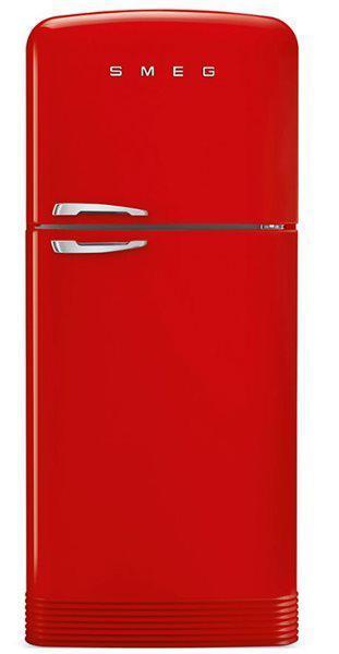 Smeg fab50rrd - frigorífico 2 puertas 187.2x79.6 cm nofrost